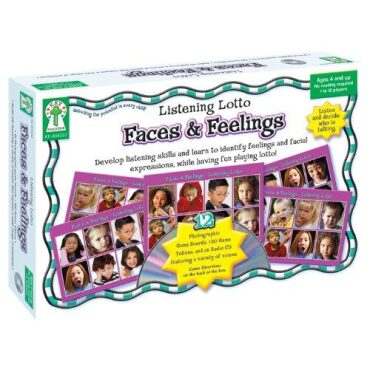Faces and Feelings Board Game